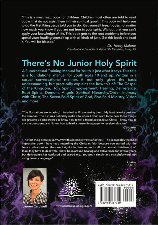there's no junior holy spirit
