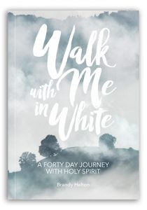 Walk With me In White, spirit filled book