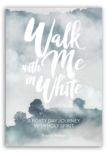 Walk With Me In White: A Forty Day Journey With Holy Spirit